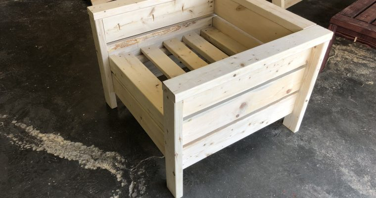 Square chair project