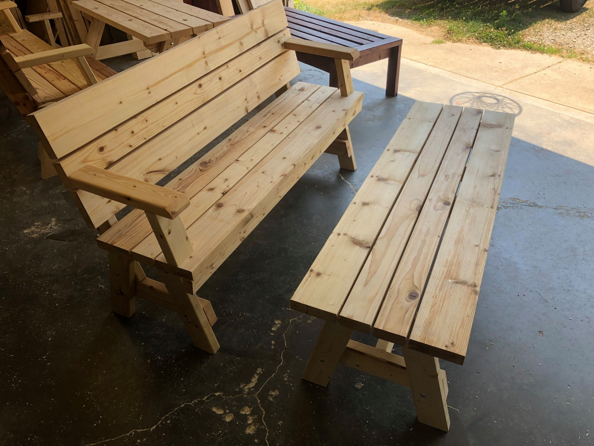 A bench and a …. ?