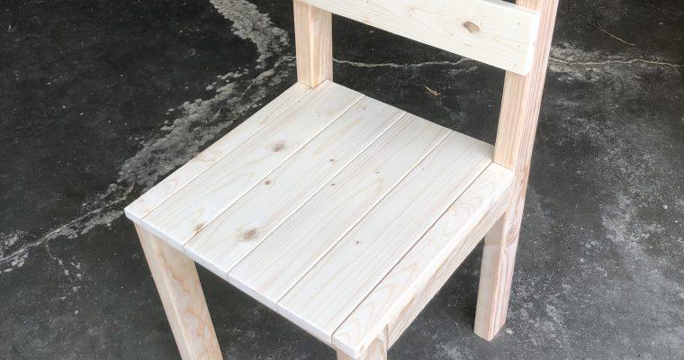 Designing a kitchen chair –  video